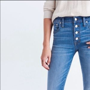 Madewell Demi Boot Jeans